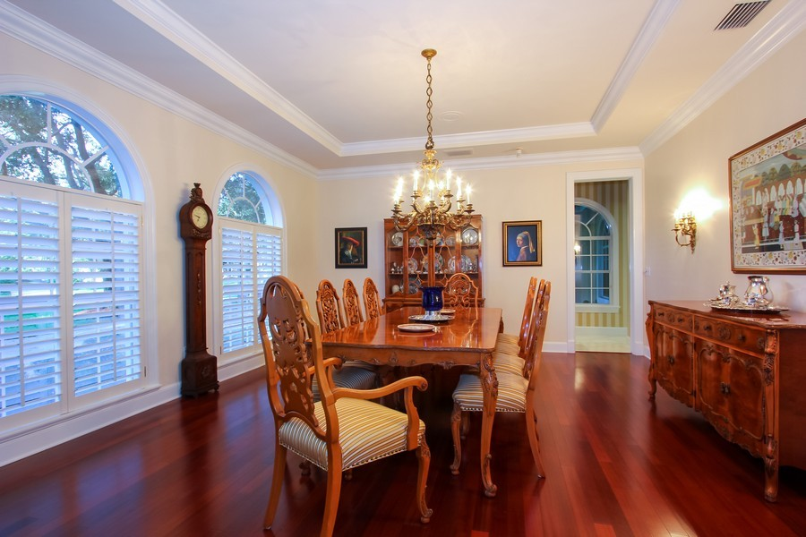 Real Estate Photography - 8725 Native Dancer, Palm Beach Gardens, FL, 33418 - Dining Room