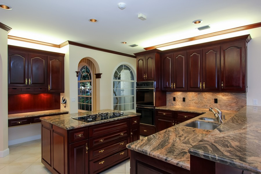 Real Estate Photography - 8725 Native Dancer, Palm Beach Gardens, FL, 33418 - Kitchen