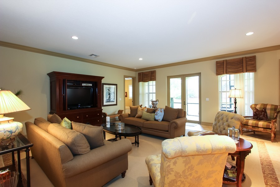 Real Estate Photography - 325 chambord terr, pbg, FL, 33408 - Living Room