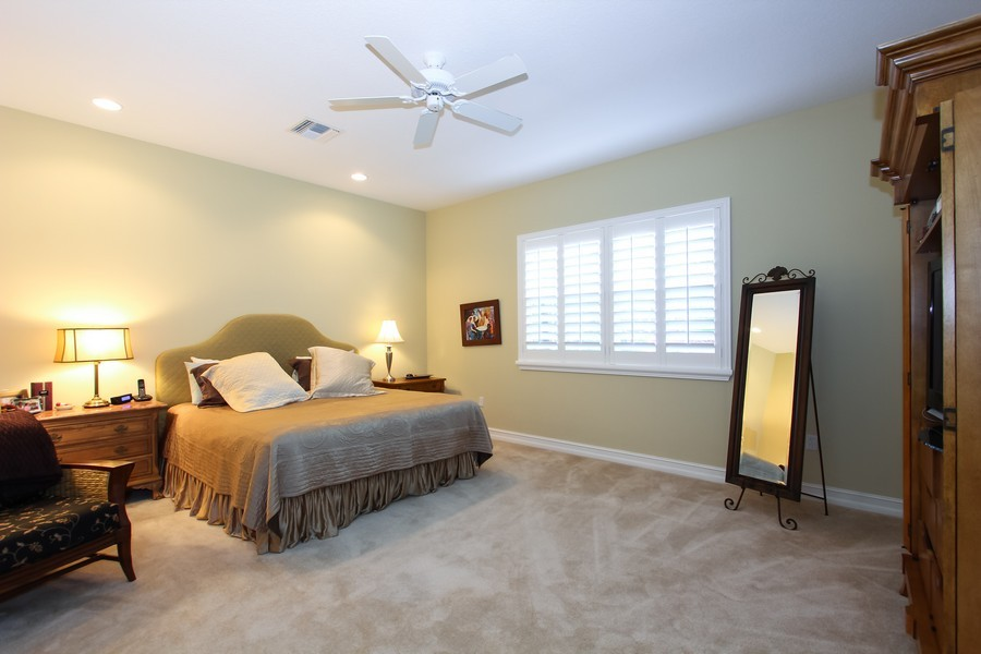 Real Estate Photography - 325 chambord terr, pbg, FL, 33408 - Master Bedroom