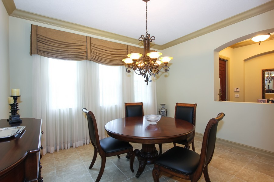 Real Estate Photography - 325 chambord terr, pbg, FL, 33408 - Dining Room