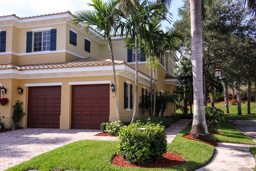 Real Estate Photography - 325 chambord terr, pbg, FL, 33408 - Front View