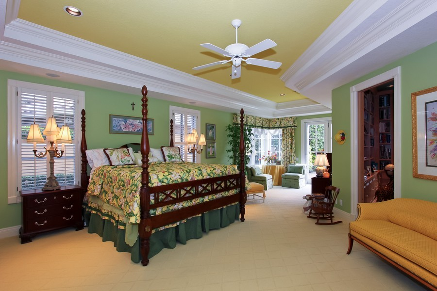 Real Estate Photography - 8533 Egret Meadow Ln, West Palm Beach, FL, 33412 - Master Bedroom