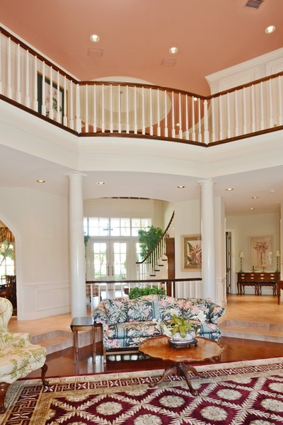 Real Estate Photography - 8533 Egret Meadow Ln, West Palm Beach, FL, 33412 - Foyer/Living Room