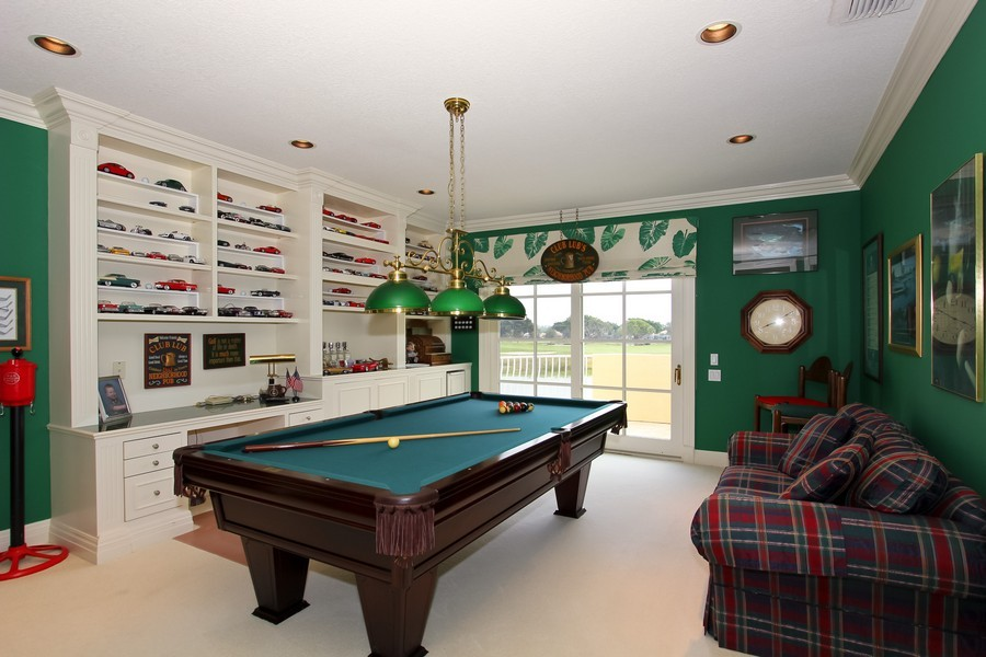 Real Estate Photography - 8533 Egret Meadow Ln, West Palm Beach, FL, 33412 - Gameroom