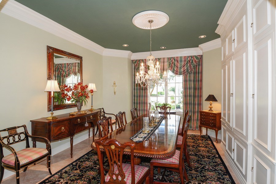 Real Estate Photography - 8533 Egret Meadow Ln, West Palm Beach, FL, 33412 - Dining Room