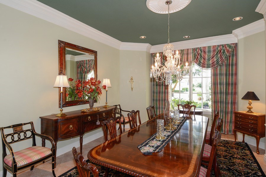 Real Estate Photography - 8533 Egret Meadow Ln, West Palm Beach, FL, 33412 - Dining Area
