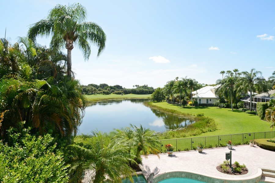 Real Estate Photography - 8533 Egret Meadow Ln, West Palm Beach, FL, 33412 - Rear View