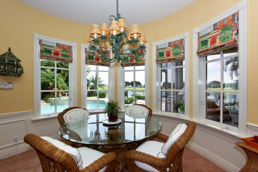 Real Estate Photography - 8533 Egret Meadow Ln, West Palm Beach, FL, 33412 - Breakfast Nook