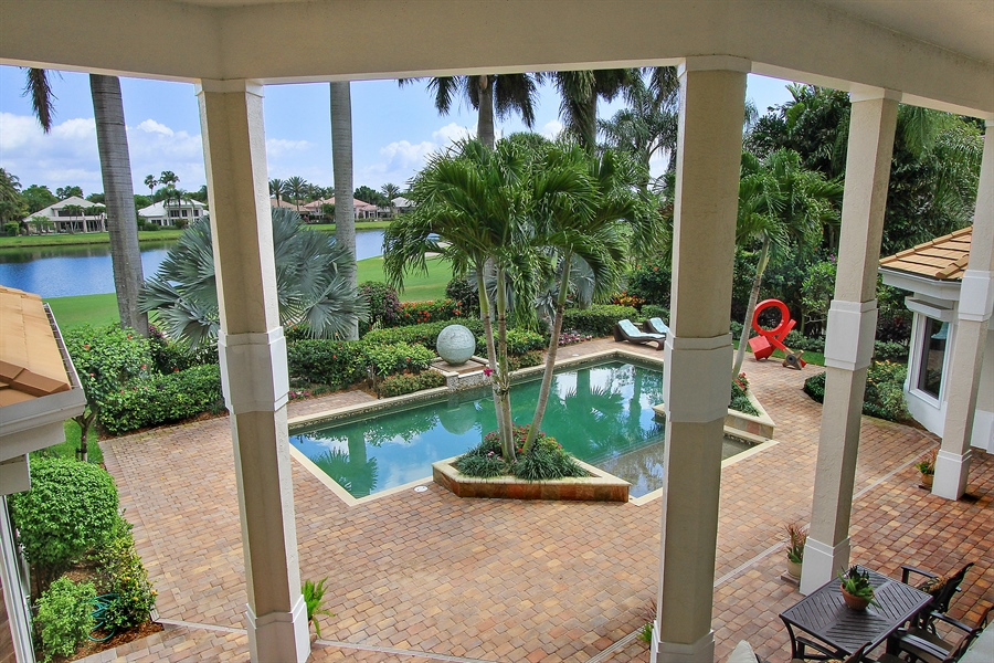 Real Estate Photography - 40 St. Thomas Drive, Palm Beach Gardens, FL, 33418 - Back Yard