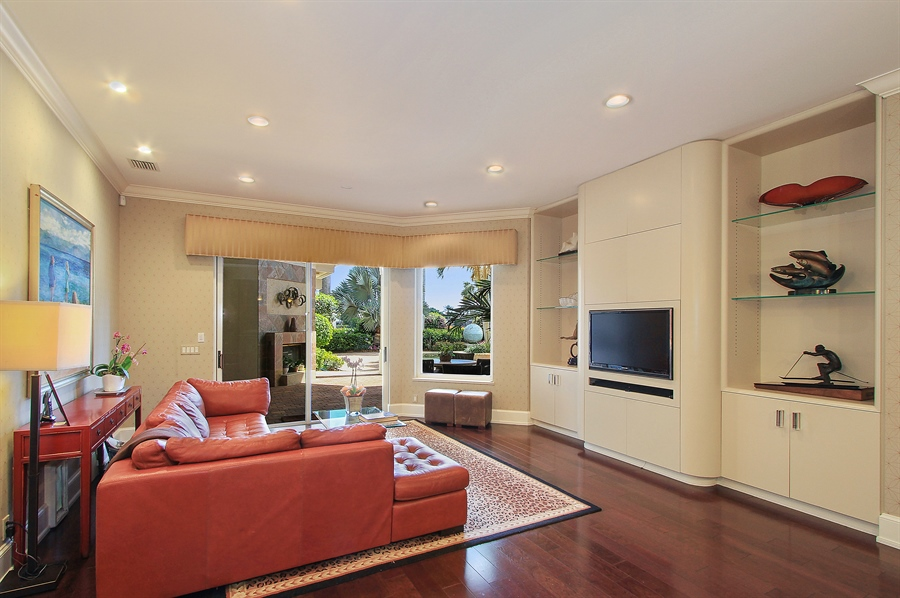 Real Estate Photography - 40 St. Thomas Drive, Palm Beach Gardens, FL, 33418 - Family Room