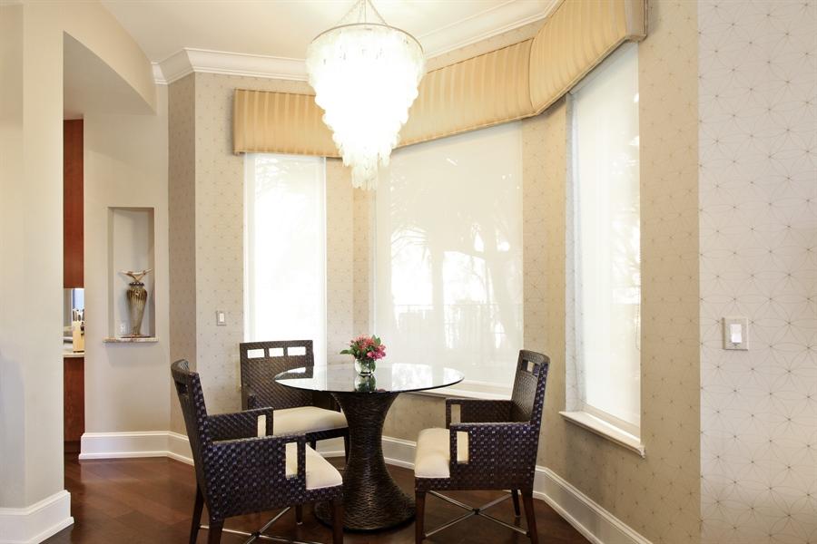 Real Estate Photography - 40 St. Thomas Drive, Palm Beach Gardens, FL, 33418 - Breakfast Nook
