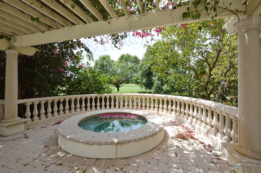 Real Estate Photography - 215 Grand Pointe, Palm Beach Gardens, FL, 33418 - Terrace