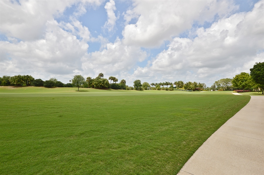 Real Estate Photography - 215 Grand Pointe, Palm Beach Gardens, FL, 33418 - Golf Course