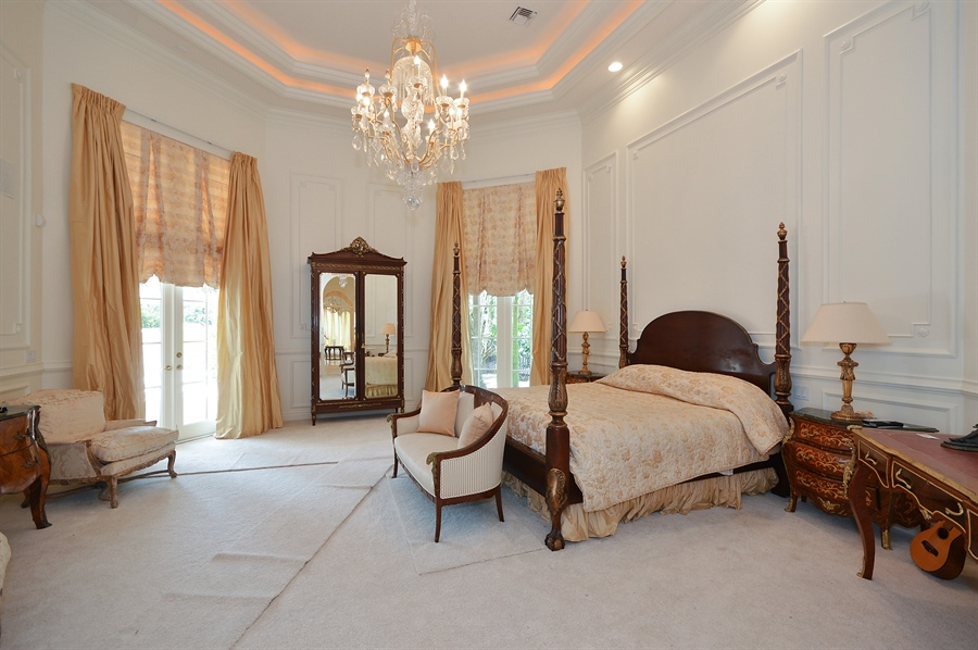 Real Estate Photography - 215 Grand Pointe, Palm Beach Gardens, FL, 33418 - Master Bedroom