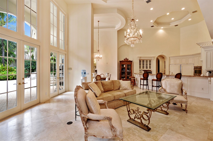 Real Estate Photography - 215 Grand Pointe, Palm Beach Gardens, FL, 33418 - Great Room