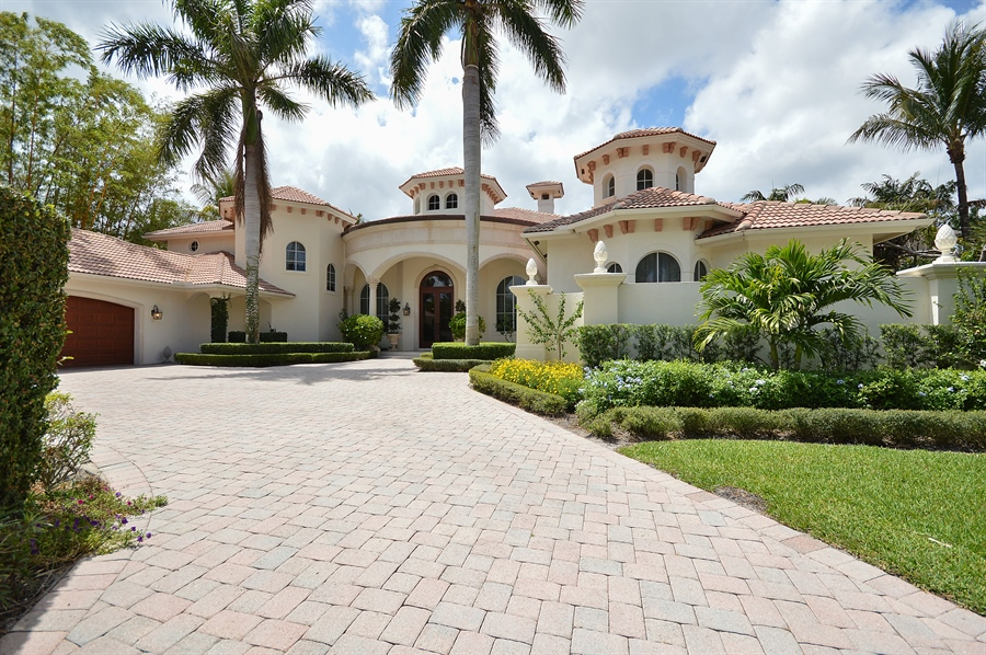 Real Estate Photography - 215 Grand Pointe, Palm Beach Gardens, FL, 33418 - Front View