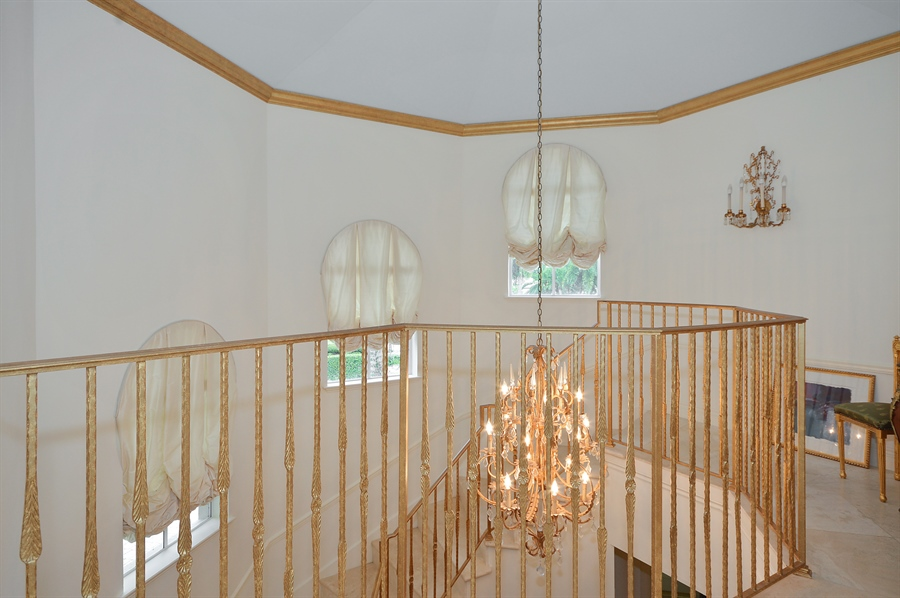 Real Estate Photography - 215 Grand Pointe, Palm Beach Gardens, FL, 33418 - Staircase