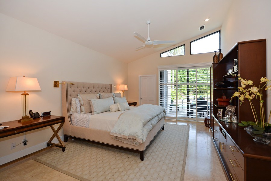 Real Estate Photography - 13893 LEHAVRE DR, PALM BEACH GARDENS, FL, 33410 - Master Bedroom