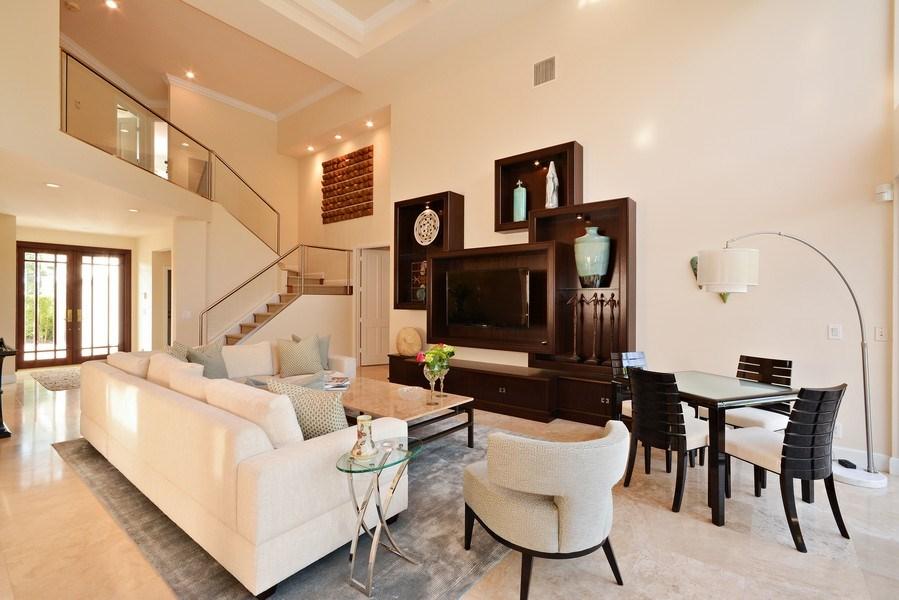 Real Estate Photography - 13893 LEHAVRE DR, PALM BEACH GARDENS, FL, 33410 - Living Room
