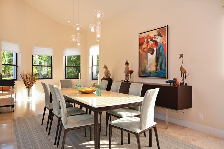Real Estate Photography - 13893 LEHAVRE DR, PALM BEACH GARDENS, FL, 33410 - Dining Room