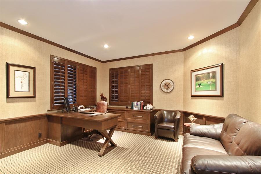Real Estate Photography - 13893 LEHAVRE DR, PALM BEACH GARDENS, FL, 33410 - Den