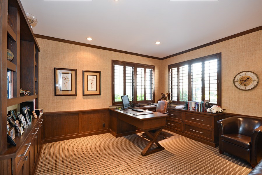 Real Estate Photography - 13893 LEHAVRE DR, PALM BEACH GARDENS, FL, 33410 - Office