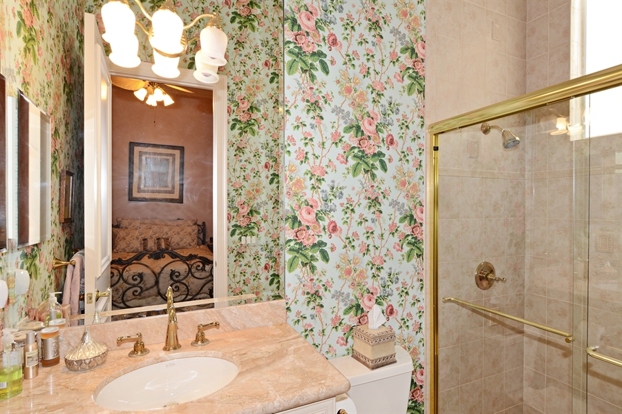Real Estate Photography - 417 Savoie Dr, Palm Beach Gardens, FL, 33418 - 3rd Bathroom
