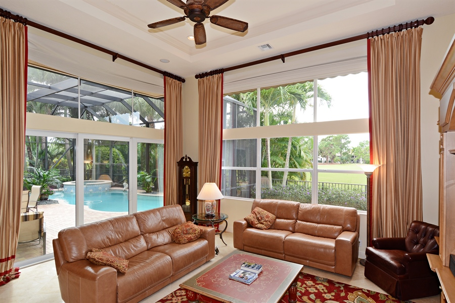 Real Estate Photography - 417 Savoie Dr, Palm Beach Gardens, FL, 33418 - Great Room