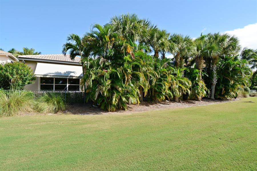 Real Estate Photography - 417 Savoie Dr, Palm Beach Gardens, FL, 33418 - Back Yard