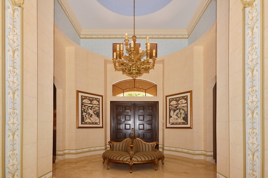 Real Estate Photography - 417 Savoie Dr, Palm Beach Gardens, FL, 33418 - Foyer
