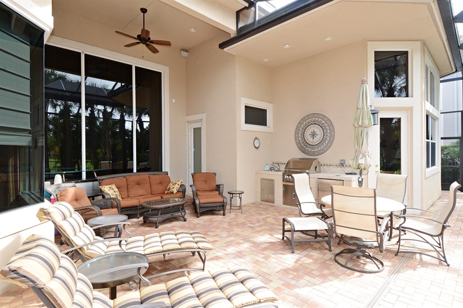 Real Estate Photography - 417 Savoie Dr, Palm Beach Gardens, FL, 33418 - Patio