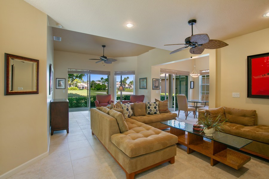 Real Estate Photography - 8377 Quail Meadow Way, West Palm Beach, FL, 33412 - Living Room