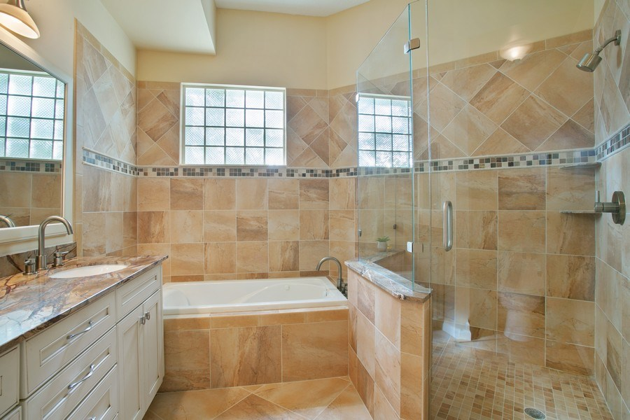 Real Estate Photography - 8377 Quail Meadow Way, West Palm Beach, FL, 33412 - Master Bathroom