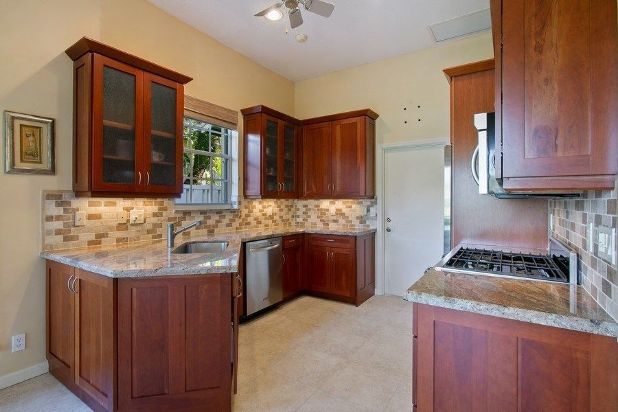 Real Estate Photography - 8377 Quail Meadow Way, West Palm Beach, FL, 33412 - Kitchen