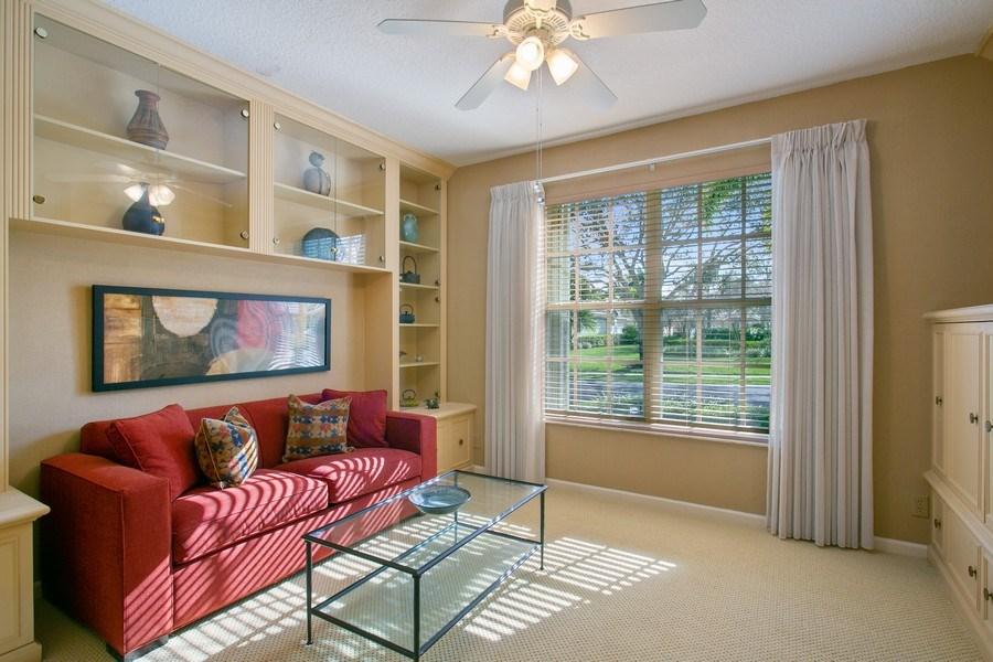 Real Estate Photography - 8377 Quail Meadow Way, West Palm Beach, FL, 33412 - Den