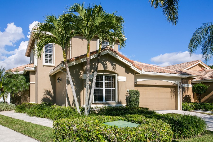 Real Estate Photography - 8377 Quail Meadow Way, West Palm Beach, FL, 33412 - Front View
