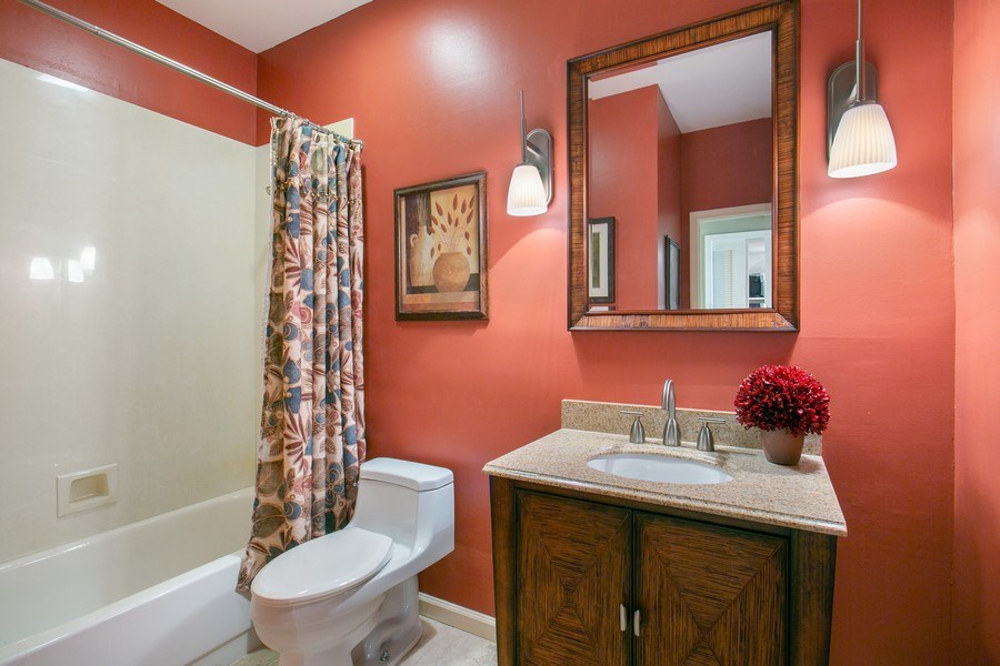 Real Estate Photography - 8377 Quail Meadow Way, West Palm Beach, FL, 33412 - 2nd Bathroom