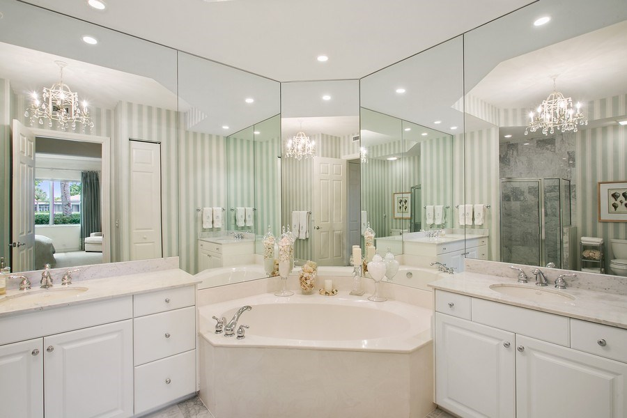 Real Estate Photography - 10327 Orchid Reserve Dr, West Palm Beach, FL, 33412 - Master Bathroom