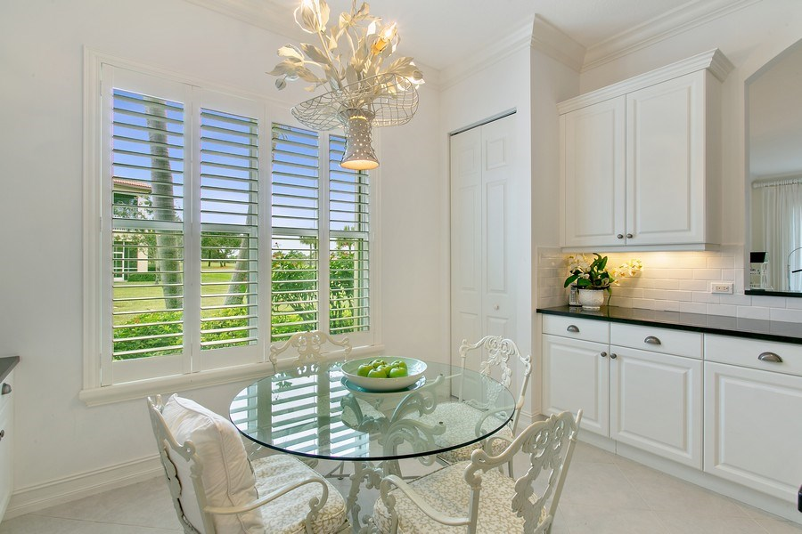 Real Estate Photography - 10327 Orchid Reserve Dr, West Palm Beach, FL, 33412 - Breakfast Nook