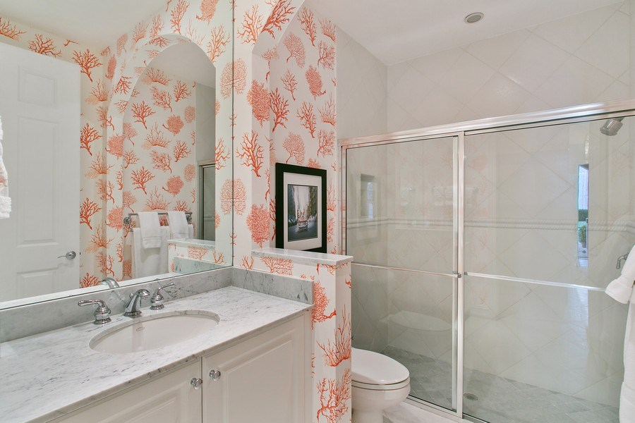 Real Estate Photography - 10327 Orchid Reserve Dr, West Palm Beach, FL, 33412 - 2nd Bathroom