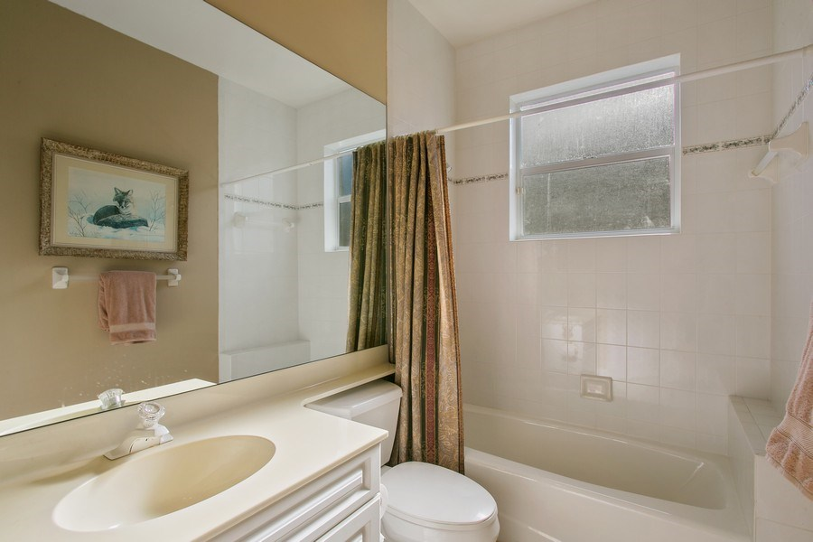 Real Estate Photography - 8990 Lakes Blvd, West Palm Beach, FL, 33412 - 3rd Bathroom
