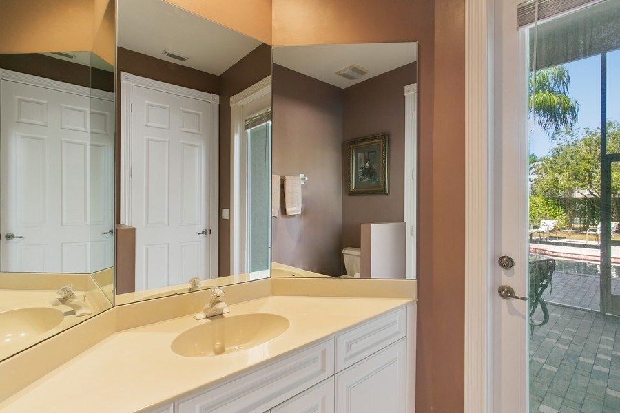 Real Estate Photography - 8990 Lakes Blvd, West Palm Beach, FL, 33412 - 4th Bathroom