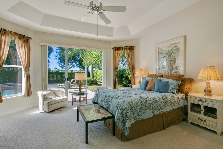 Real Estate Photography - 8990 Lakes Blvd, West Palm Beach, FL, 33412 - Master Bedroom