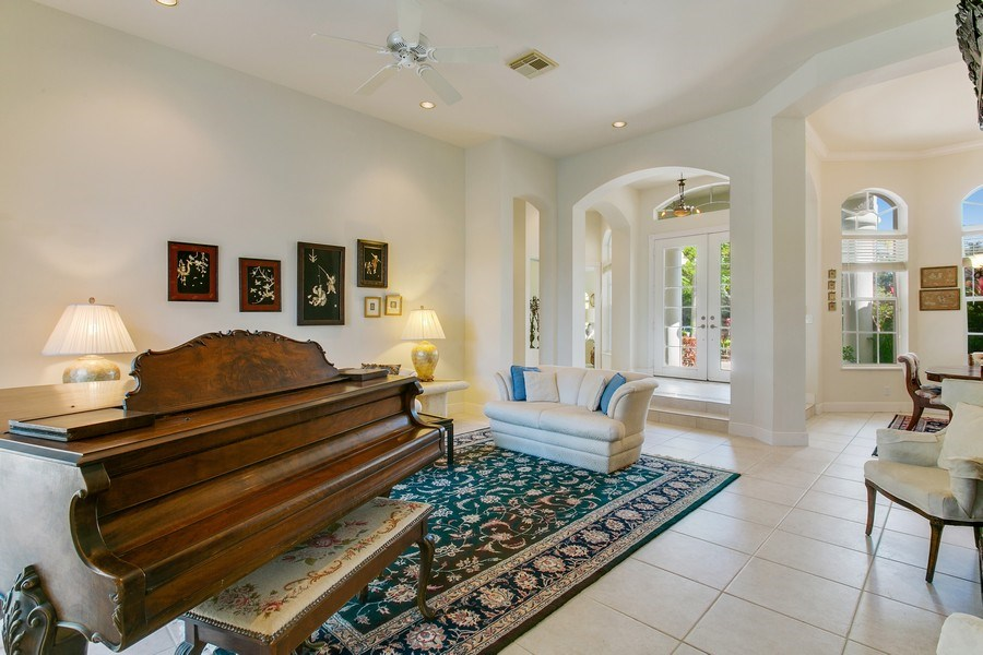 Real Estate Photography - 8990 Lakes Blvd, West Palm Beach, FL, 33412 - Living Room
