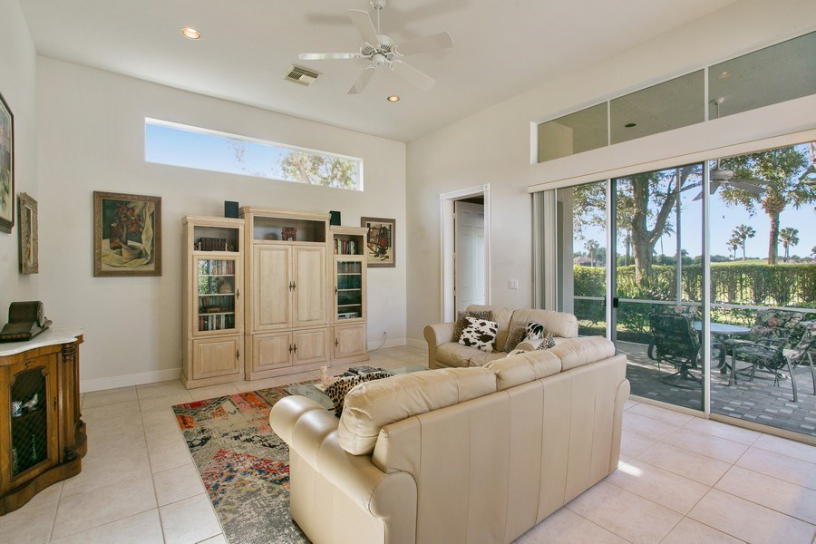 Real Estate Photography - 8990 Lakes Blvd, West Palm Beach, FL, 33412 - Family Room