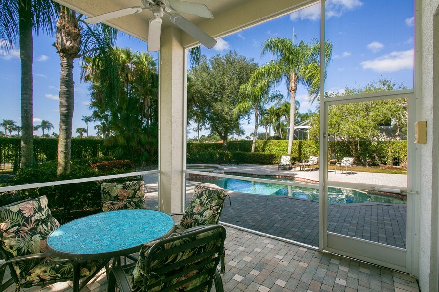 Real Estate Photography - 8990 Lakes Blvd, West Palm Beach, FL, 33412 - Patio