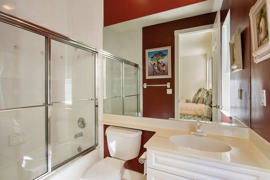 Real Estate Photography - 8990 Lakes Blvd, West Palm Beach, FL, 33412 - 2nd Bathroom