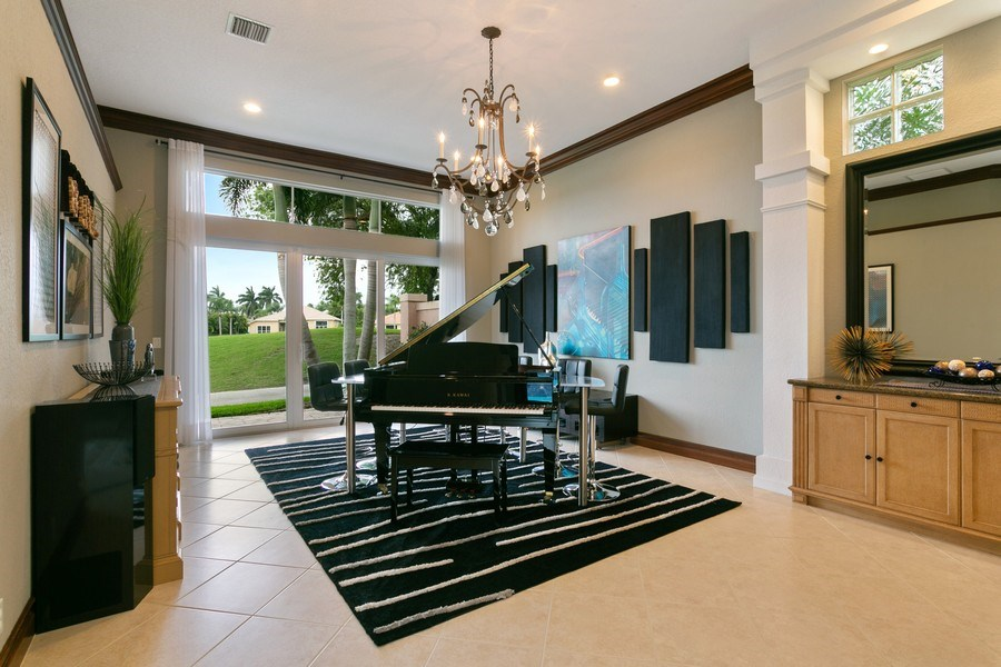 Real Estate Photography - 8660 Falcon Green Drive, West Palm Beach, FL, 33412 - Entertainment Room