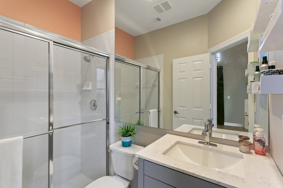 Real Estate Photography - 8660 Falcon Green Drive, West Palm Beach, FL, 33412 - Guest Bathroom (2nd) En Suite